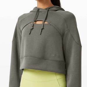 Lululemon Get Centered Crop Hoodie